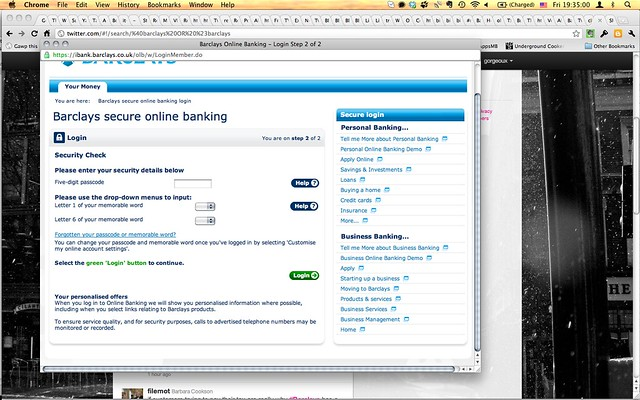 Barclays online banking - Barclays boss could net £10m payout