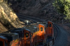 Into West DoubleA 1 (ChasingSteel.com) Tags: railroad arizona train bnsf gees44dc transcon intemodal seligmansubdivision chasingsteelcom westdoublea