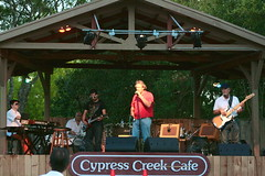 Rob Roy Parnell at Cypress Creek Cafe by Dan Holmes Group