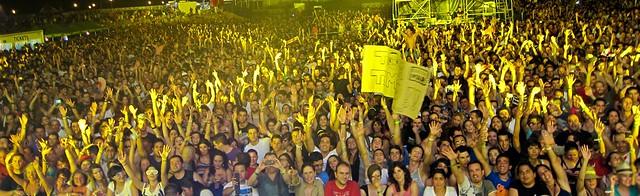 moby crowd electromar festival