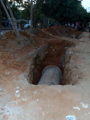 Sidewalk Construction in Mirpur, Dhaka