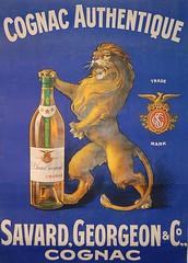 Cognac (ehem. Diether Petter) Tags: france art vintage frankreich belle nouveau cognac publicité reklame affiche ancienne jugendstil savard epoque schreibman georgeon