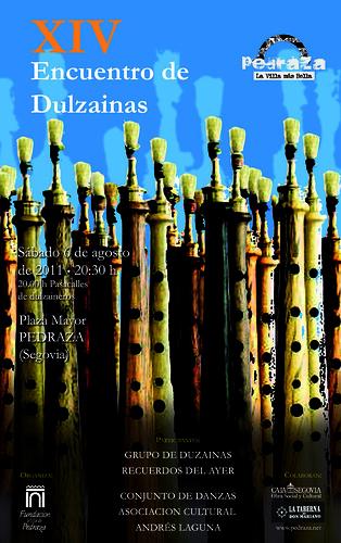 Cartel encuentro de dulzainas 2011