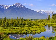 Vermilion Lake -130 (ur9) Tags: blue summer sky mountain lake reflection water rockies banff canadianrockies vermilionlake
