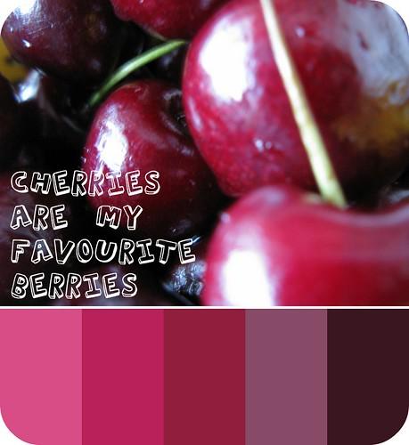 Cherries are my favourite berries