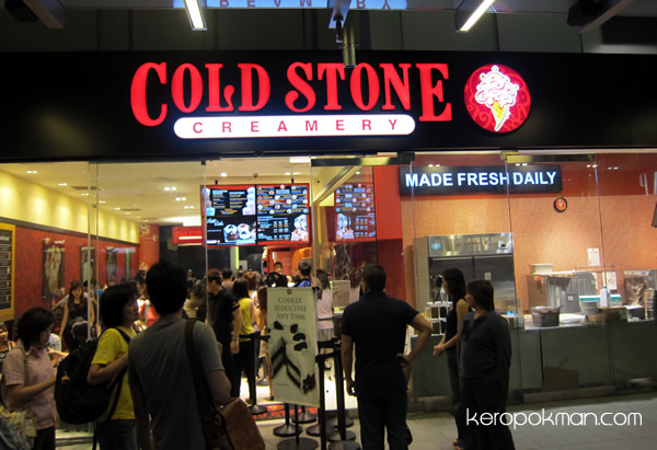 Cold Stone Creamery @ Orchard Central
