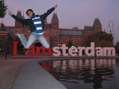 Amsterdam, Netherlands - Jumping Shot