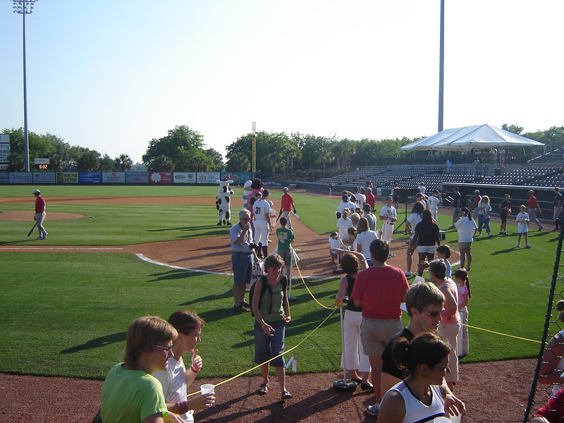 The Finish Line and Home Plate