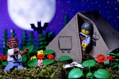 Lego Werewolf (Sad Old Biker) Tags: pictures desktop wood uk camping wallpaper england moon tree werewolf night forest canon dark poster geotagged photography bay photo blood funny europe kevin lego forrest photos sale lol background teeth awesome victim evil images tent best card photograph buy minifig fangs lmao ever coolest cutest curse howl anthropomorphism anthropomorphic rofl lycanthrope poulton lycanthropy series4 silverbullets kevinpoulton sadoldbiker attackbite finniest