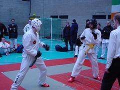 IUTF Intervarsities - UCD Sports Centre (February 2002) (irlLordy) Tags: 2002 ireland dublin club taekwondo karl february spar tkd iutf ucd sportscentre intervarsities