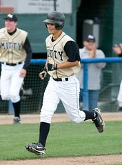 Sean Edgecumbe homers for Mitty - LA-MV 2011 Wall of Fame