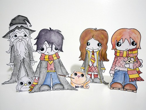 Harry Potter Paper Dolls