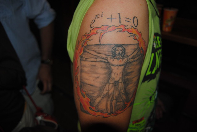 Tres grandes tatuajes matemáticos