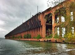 Abandoned Ashland Ore Docks (rexp2) Tags: lake abandoned industry dock iron steel superior pro ore hdr iphone