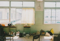 class room at High school (blackteaj.justice) Tags: natura highschool fujifilm kawasaki natura1600    naturaclassica