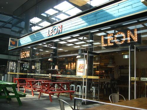 Leon, Spitalfields. Yum.