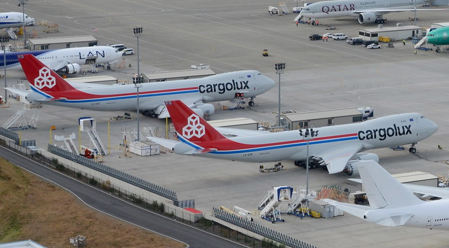Cargolux Boeing 747-8F LX-VCB RC502