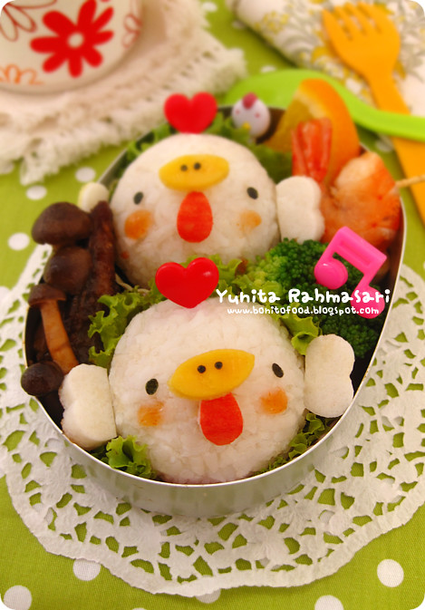 Happy Hen Bento