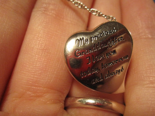 back of necklace from gram
