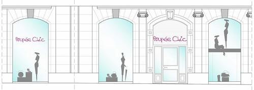 reforma interior de local comercial para tienda Poupee Chic, Mercedes de Miguel - Bilbao 01