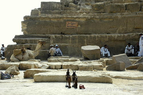 Tourist Police at the pyramids