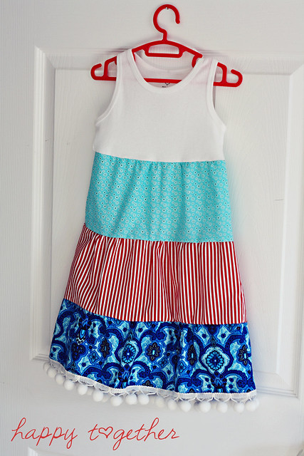 Tank Top 3 Tiered Dress
