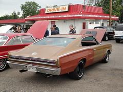 66 Dodge Charger (DVS1mn) Tags: show cars car 1966 66 dodge mopar six charger sixty nineteen wpc walterpchrysler pentastar chryslercorporation nineteensixtysix