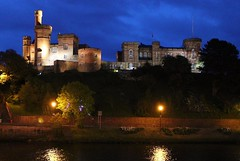Inverness Castle at night in Inverness, Scotland, UK (Hopeisland) Tags: