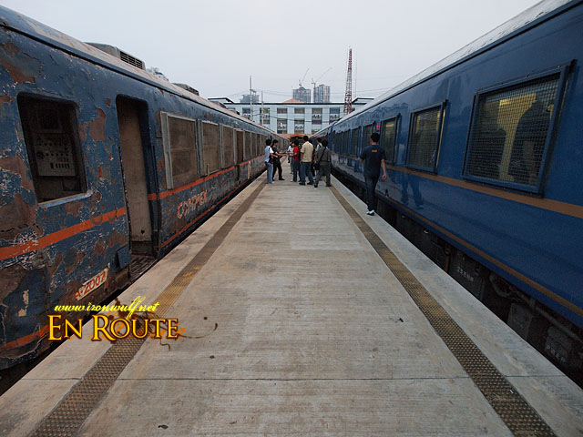 Old and New PNR Trains