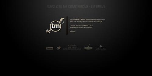 Página de espera - Site Talles & Murilo by chambe.com.br