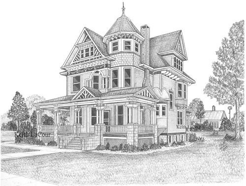 Victorian House Aviston IL