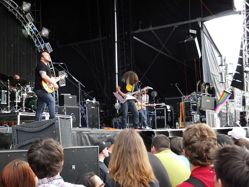 Coheed & Cambria at Bluesfest 2011