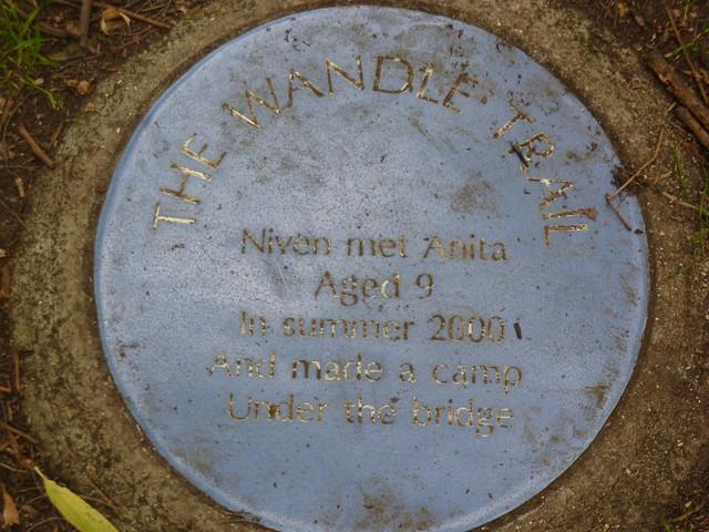 Wandle Trail blue plaques