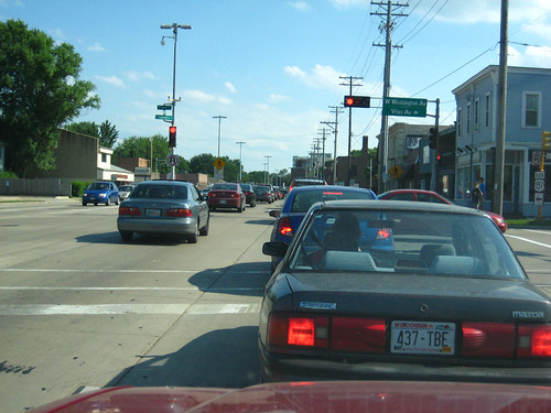 Traffic on Park Street
