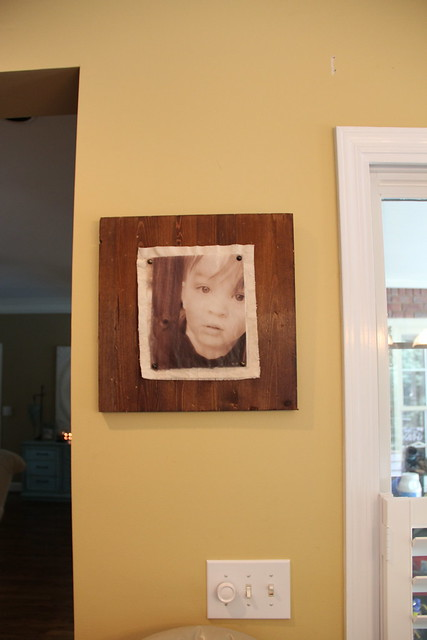 encaustic wax frame
