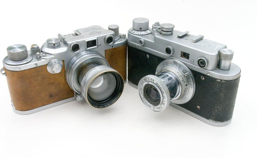 Leica and Zorki