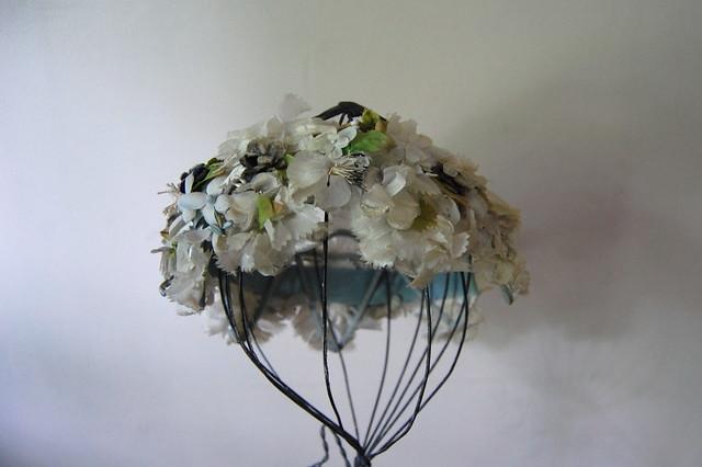 Vintage Floral Crown
