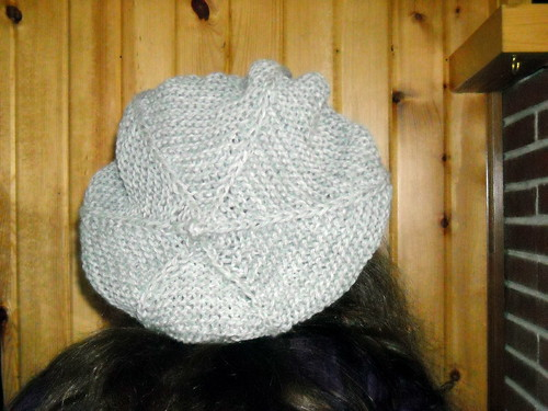 Pattern #2 - Cabled Brim Tam
