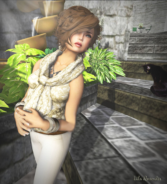 [Shag] Bombshell - Kitten, L'Abel Lotte & Secret Store - Flareed Pants (Close)