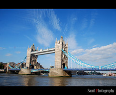 London Tower Bridge (Sanil Photography) Tags: bridge london tower water thames river londontowerbridge watet rajitha flickraward nikond40x myfocuz sanilphotography linsaworld