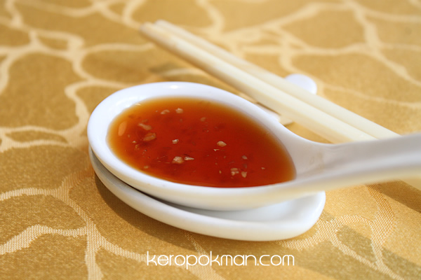 Red Vinegar with Garlic Sauce