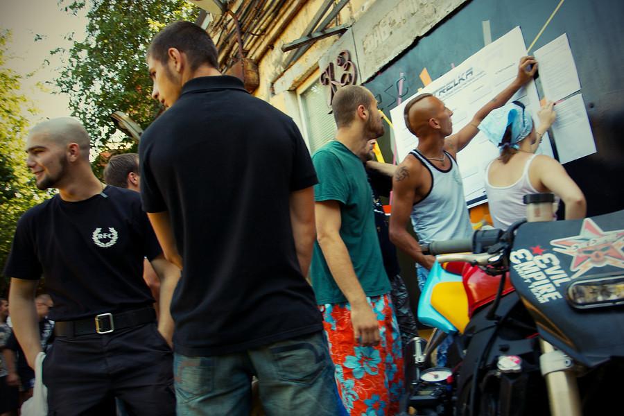 "Открытый чемпионат по уличным боям ""STRELKA"""