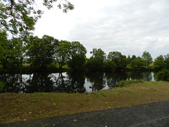 Walk along the river in Arklow