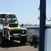 Atravessando de ferry-boat, Araya - Cumaná