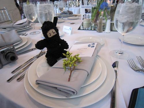 Ninja at the table