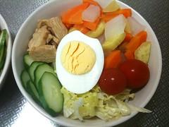 朝食サラダ(2011/7/13)