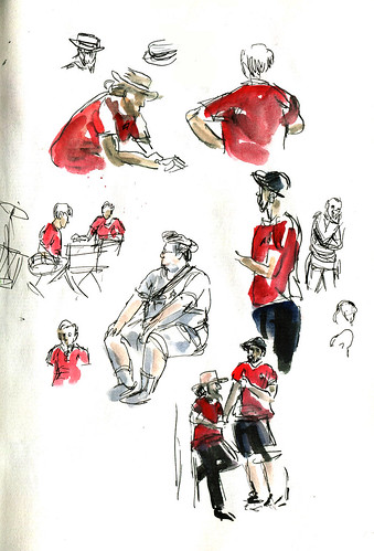SketchCrawl - Trek in the Park