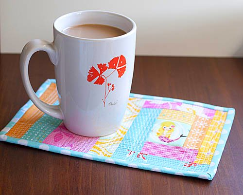 Mermaid Mug Rug