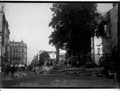 Travaux de prolongement de la rue Alsace-Lorraine (future rue du Languedoc)