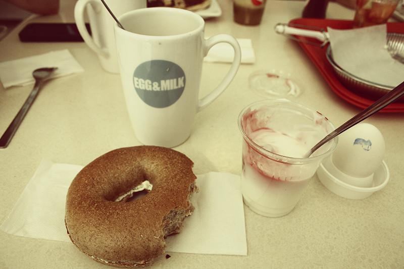 Frukost på Egg&Milk